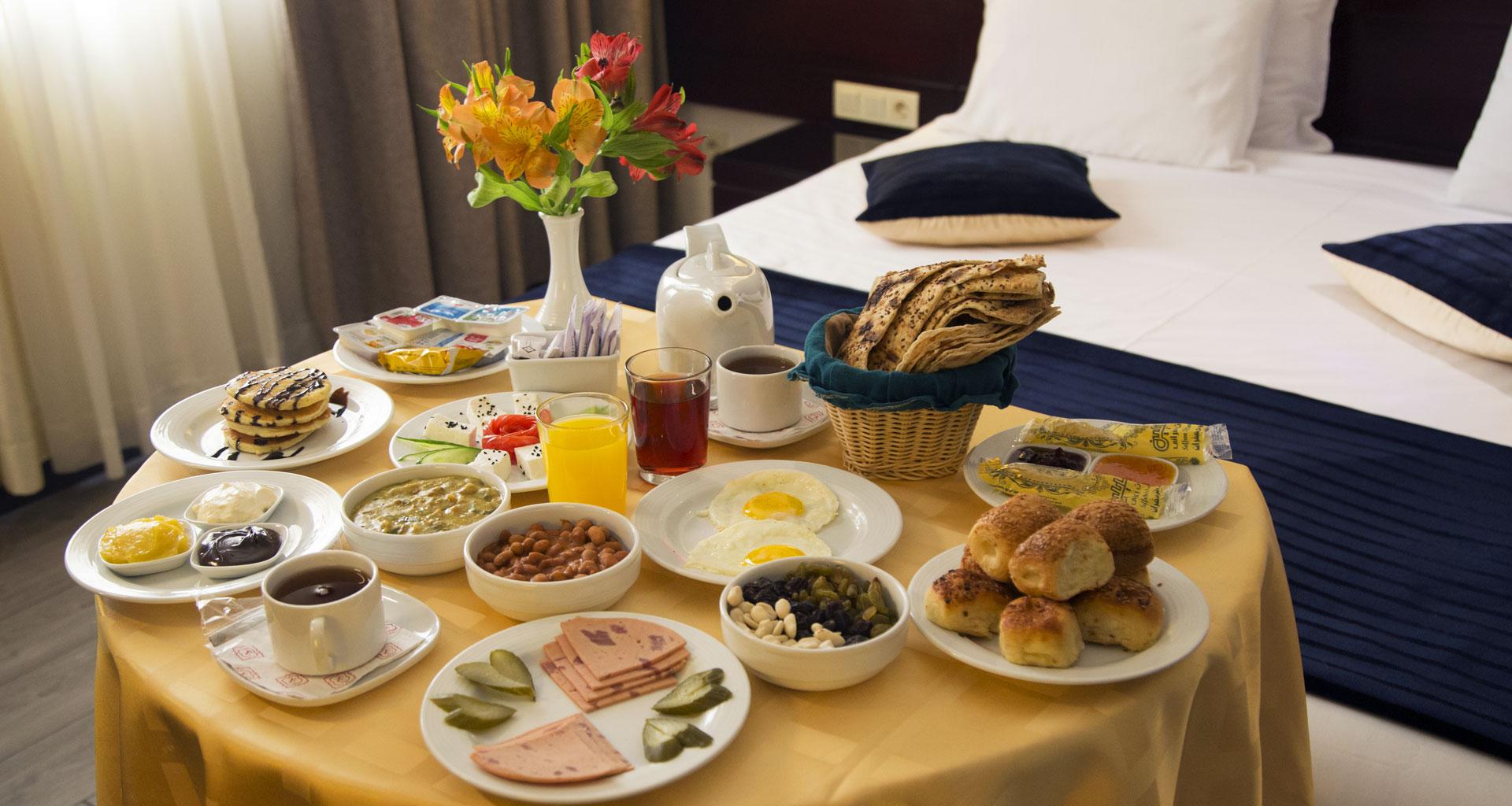 یک صبحانه خوشمزه برای یک روز عالی !