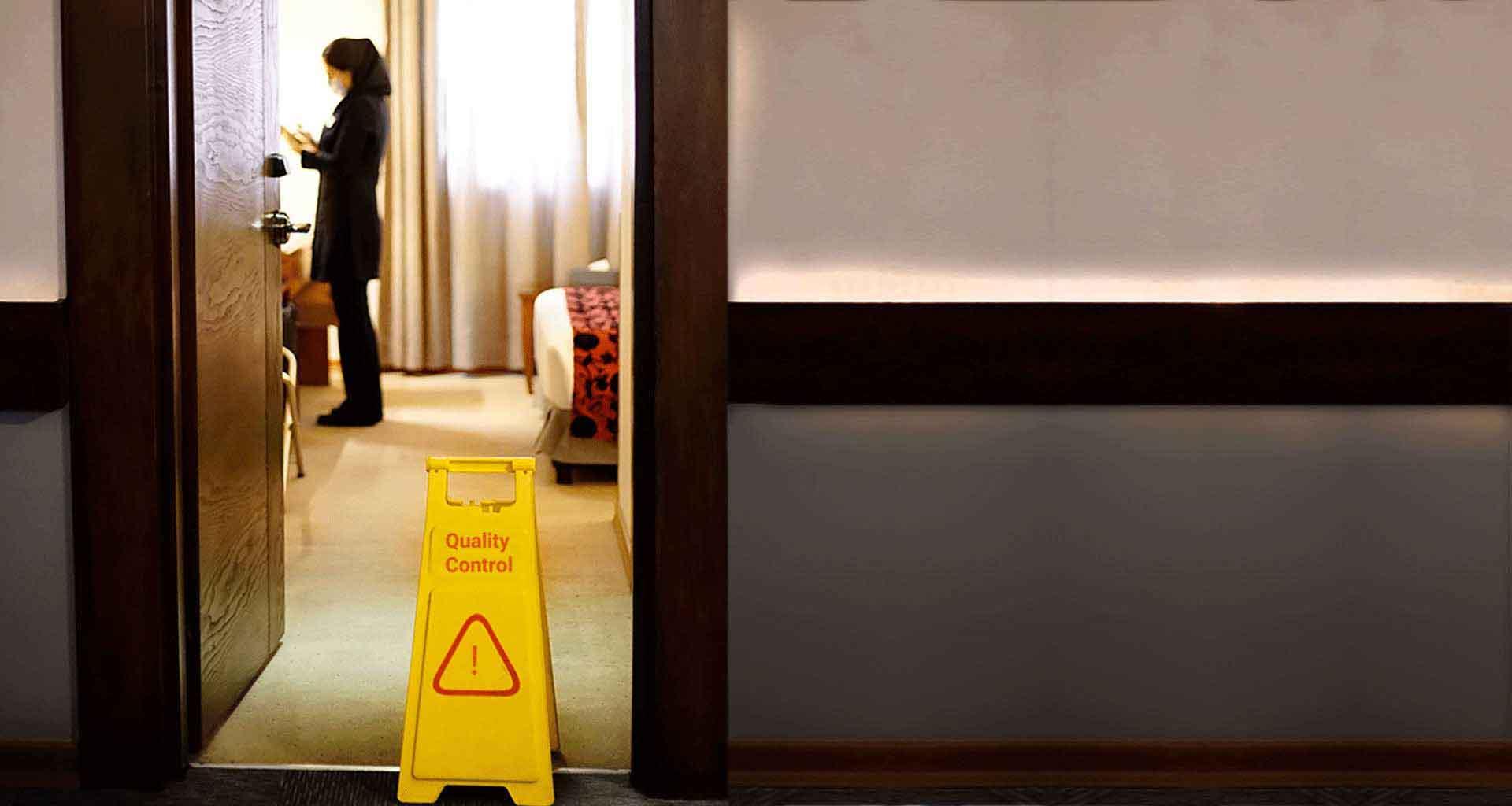 72 نقطه قبل از ورود شما با وسواس توسط واحد کنترل کیفی هتل الیزه چک می شود